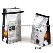 Quad Sealed Pet Food Bag with Tin-Tie