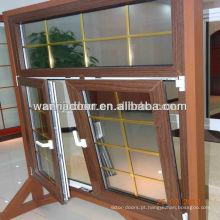 janela de vidro duplo de alumínio
