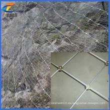 China Fábrica de suministro caliente de venta de malla metálica flexible de malla / red de malla de alambre de acero inoxidable malla, pista de detección de protección