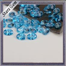 Moda Aqua Blue CZ Stones para mujer