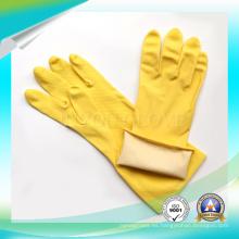 Trabajo de trabajo del hogar Seguridad impermeable Guantes de cocina de latex de jardín