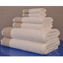 China 500-800g Cotton 6-Piece Towel Set, White