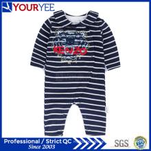 Neue lange Hülsen-Streifen-Säugling Onesie-preiswerte Baby-Kleidung (YBY116)