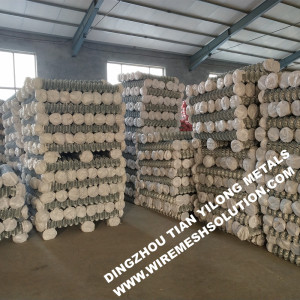 50mm Hot Dipped Galvanized Chain Link Fence