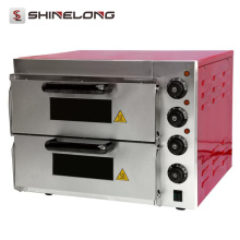2017 Counter Top Industrial Bread Baking Commercial Stainless Steel Electric Pizza Oven For Sale