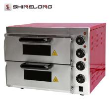 2017 forno de pizza industrial de aço inoxidável para cozinha