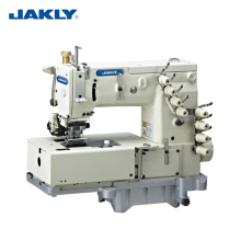 Máquina de coser industrial de la pretina de la cadena doble de la aguja de la Doble-aguja de JK1508P 4-aguja plana