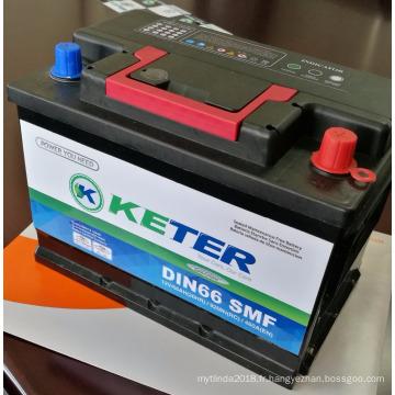 Batteries de voiture scellées exemptes d'entretien N105 R / L SMF SMF