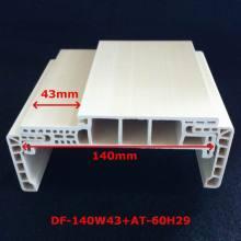 Neue Ankunft eine Art WPC Türrahmen PVC geschäumten Tür Pocket Door Df-140W43