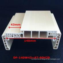 New Arrival a Style WPC Door Frame PVC Foamed Door Pocket Door Jamb Df-140W43