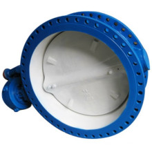 Soft Seated U Type Flange Butterfly Valve