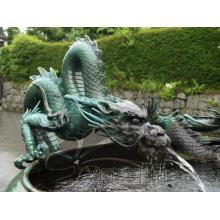 Dragon de fontaine d'eau de haute qualité
