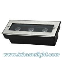 AC85-265V 3W IP68 unterirdische LED-Lampen Außenleuchten