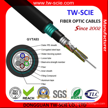 GYTA53 Direct-Burial Doppelmantel-Glasfaserkabel