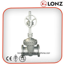 ANSI/API Gear Operated Wcb Flanged Gate Valve