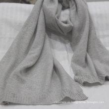 Fuente de la fábrica de punto 100% bufanda de cachemira