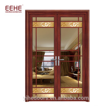 French Aluminum Glazing Windows and Doors Double Open