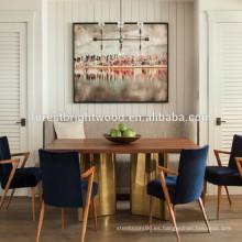 Transición de comedor completo compuestos blanco madera tipo persiana puertas