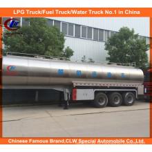 3-Eixos 45cbm Milk Tank Trailer