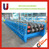 Cassette Metal Deck Roll Forming Machine for Steel