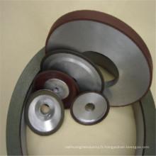 meules de cbn de liaison de résine pour le carbure