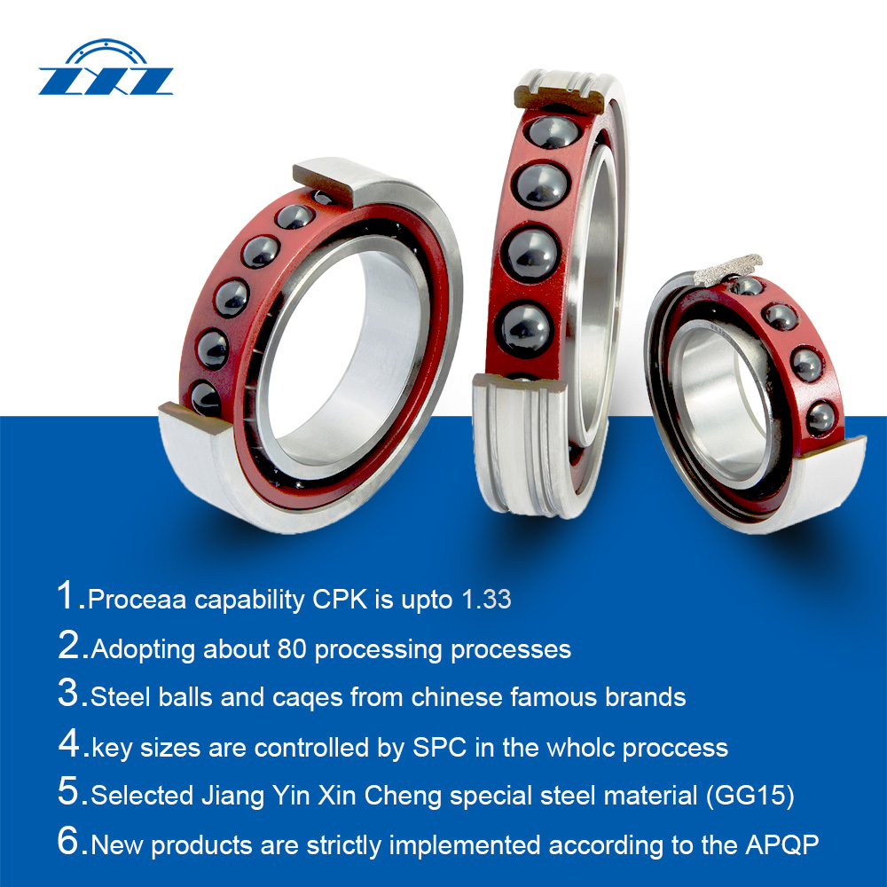 ZXZ angular contact ball bearing Type