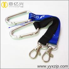 Keychain de fita de logotipo de sublimação de alumínio