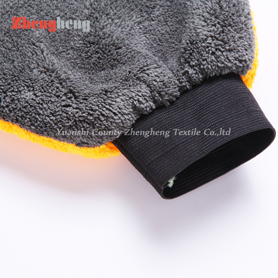 100% Microfibra Coral Fleece Paw Glove