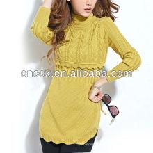 13STC5804 mais recente projeto pullover novo estilo de moda vestido de camisola