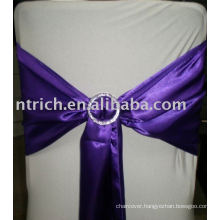 Gorgeous Satin Sash&Buckle