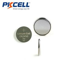 batterie 3 volts CR2450 pile bouton au lithium