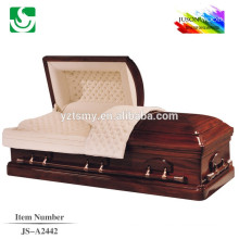 traditional1/2lid distribution American style casket lowering