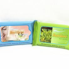 Органические антибактериальные влажные салфетки под частной торговой маркой для женщин