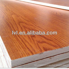 colourful melamine laminated plywood sheet for kitchen cabinet made in China