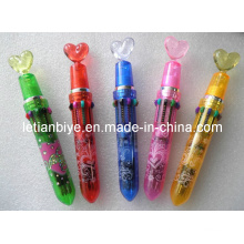 Translucent Multicolor Pen, 10 in 1 Pen (LT-Y010)