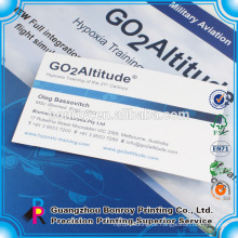 Customized A4 Papier Tasche Präsentationsdatei Ordner