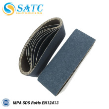 Wholesale flat belt glass polishing sanding belt About