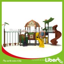 Neuer Outdoor Dschungel Gym Spielplatz Curved Slide LE.LL.002