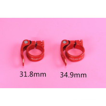 RISK bicycle parts seat clamp AL6061 31.8/34.9 mm clamps bicycle part MTB quick release bike seat clamp 5 colors