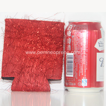 Create Red wedding favor party gift can sleeves
