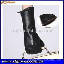 fashion leather made charm glove