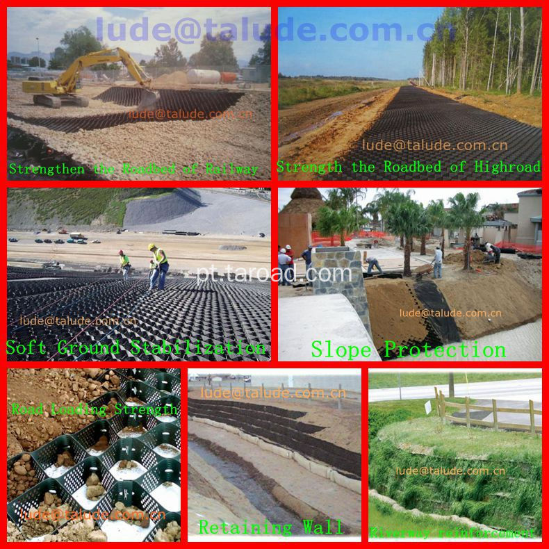 HDPE Geocell-Road Inforcement Construction