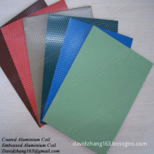embossed aluminium coils for roofing sheets
