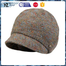Las promociones especiales vendedoras calientes del diseño hacen punto el sombrero del fabricante
