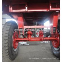 2016 Meilleures ventes Remorques de tracteur à essieu simple approuvées par la CE