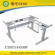 Fabrik-Verkauf Einstellbare sitzen stehen Laptop-Workstation-Design LED-Tisch