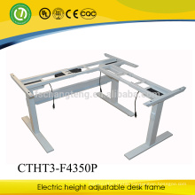 Factory-sale Adjustable sit stand Laptop workstation design led table