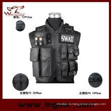 SWAT Polizei taktische Weste für Airsoft Military Warnweste