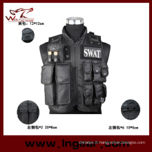 SWAT Police Tactical Vest pour gilet de sécurité militaire Airsoft