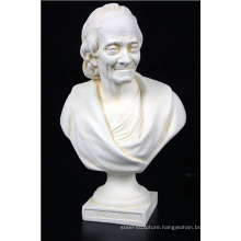 home decoration marble voltaire statue bust houdon sculpture